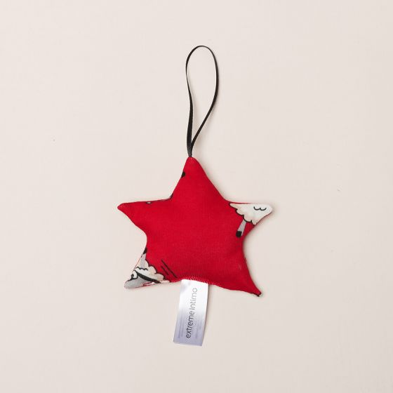 E20K-117Z103 , Textilní dekorace na vánoční stromeček